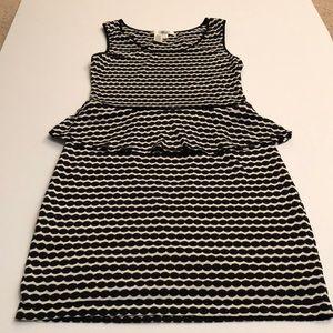 Max studio peplum dress